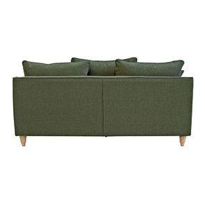 Canapé 4 places en tissu vert - Rivoli - Visuel n°6