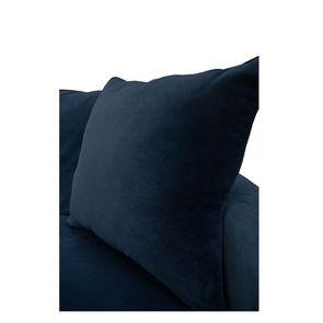 Canapé 4 places en velours bleu - Rivoli - Visuel n°9