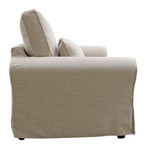 Canapé 3 places en tissu écru - Newport - Visuel n°5