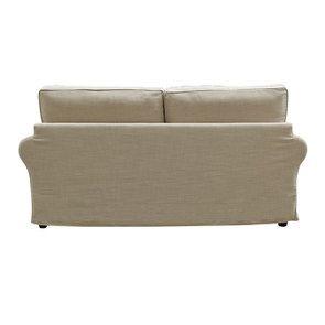 Canapé 3 places en tissu écru - Newport - Visuel n°6