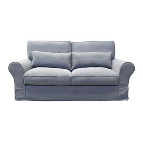 Canapé 3 places en tissu gris - Newport
