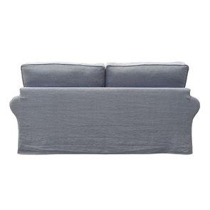 Canapé 3 places en tissu gris - Newport - Visuel n°5