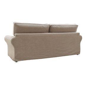 Canapé 4 places en tissu naturel - Newport - Visuel n°6