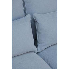 Canapé 4 places gris en tissu - Newport - Visuel n°2