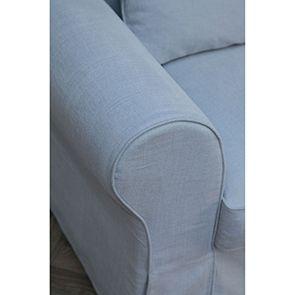 Canapé 4 places gris en tissu - Newport - Visuel n°3