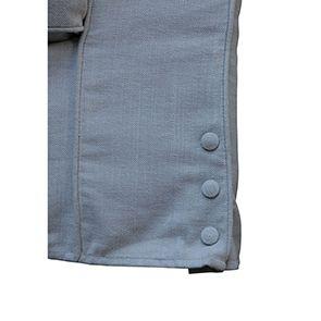 Canapé 4 places gris en tissu - Newport - Visuel n°5