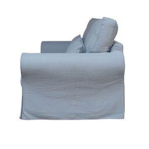 Canapé 4 places gris en tissu - Newport - Visuel n°9