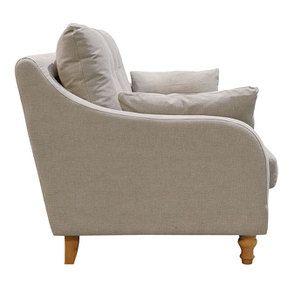 Canapé 3 places en tissu naturel - Vendôme - Visuel n°5