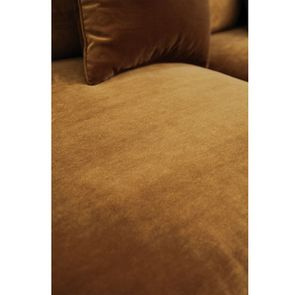 Canapé d'angle en velours bronze - Rivoli - Visuel n°11