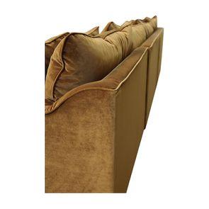 Canapé d'angle en velours bronze - Rivoli - Visuel n°13