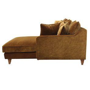 Canapé d'angle en velours bronze - Rivoli - Visuel n°4