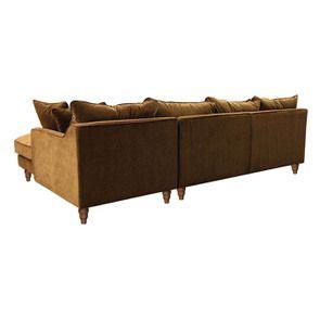 Canapé d'angle en velours bronze - Rivoli - Visuel n°6
