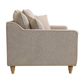 Canapé 2 places en tissu beige - Rivoli - Visuel n°4
