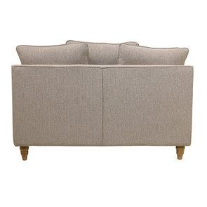 Canapé 2 places en tissu beige - Rivoli - Visuel n°5