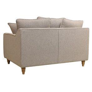Canapé 2 places en tissu beige - Rivoli - Visuel n°6