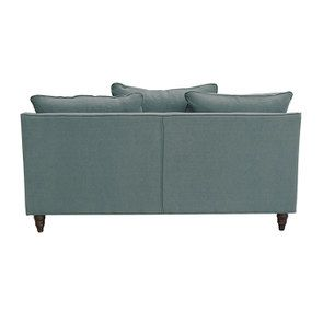 Canapé 3 places en tissu céladon - Rivoli - Visuel n°5