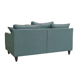 Canapé 3 places en tissu céladon - Rivoli - Visuel n°6