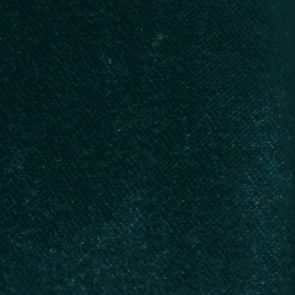 Méridienne en velours bleu paon - Rivoli