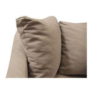 Canapé 3 places en tissu beige - Cleveland - Visuel n°8