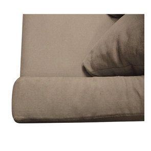 Canapé 3 places en tissu beige - Cleveland - Visuel n°9