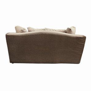 Canapé 3 places en tissu beige - Cleveland - Visuel n°6