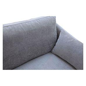 Canapé 3 places gris en tissu - Denver - Visuel n°7