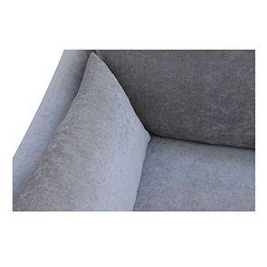 Canapé 3 places gris en tissu - Denver - Visuel n°8