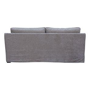 Canapé 3 places gris en tissu - Denver - Visuel n°4