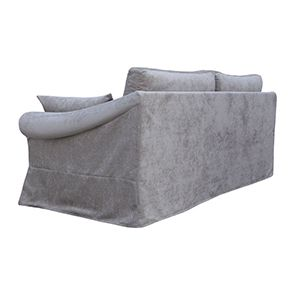 Canapé 3 places gris en tissu - Denver - Visuel n°5