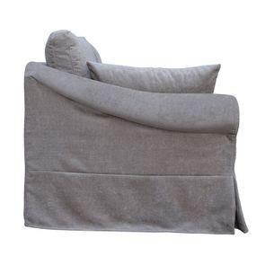 Canapé 3 places gris en tissu - Denver - Visuel n°6