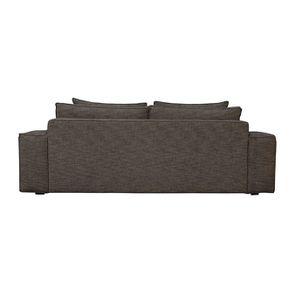 Canapé XL 4 places en tissu Marron - Hudson - Visuel n°4