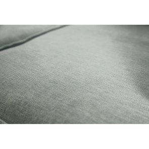 Canapé d'angle 5 places en tissu gris - Malcolm - Visuel n°9
