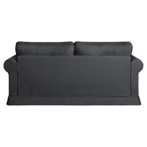 Canapé convertible 3 places en tissu gris fusain - Montana - Visuel n°5