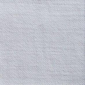 Canapé fixe 2 places en tissu blanc - Wilson