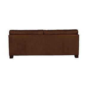 Canapé en cuir 3 places marron - Canberra - Visuel n°3