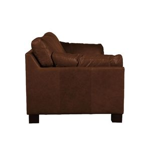Canapé en cuir 3 places marron - Canberra - Visuel n°4