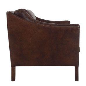 Canapé en cuir 3 places Marron Antic Whisky - Darwin - Visuel n°4
