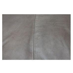 Méridienne en cuir gris - Stanford - Visuel n°6