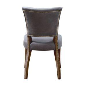 Chaise en cuir - Coleen (lot de 2) - Visuel n°5