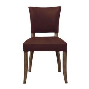 Chaise en cuir Marron Riders Mocha - Coleen (lot de 2) - Visuel n°1
