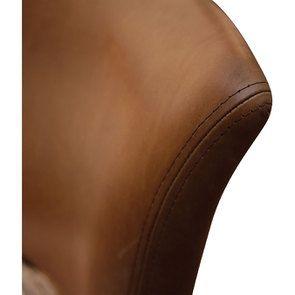 Chaise en cuir Marron Riders Nut - Coleen (lot de 2) - Visuel n°10