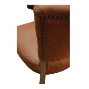 Chaise en cuir Marron Riders Nut - Coleen (lot de 2) - Visuel n°12