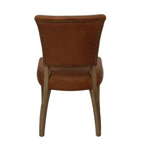 Chaise en cuir Marron Riders Nut - Coleen (lot de 2) - Visuel n°9