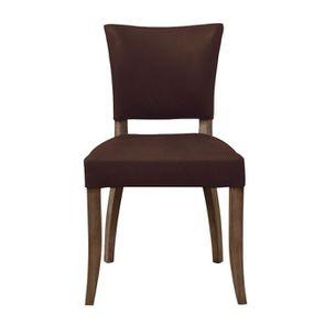 Chaise en cuir Marron Antic Whisky - Coleen (lot de 2) - Visuel n°1