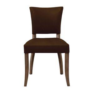 Chaise en cuir Marron Riders Cocoa - Coleen (lot de 2) - Visuel n°1