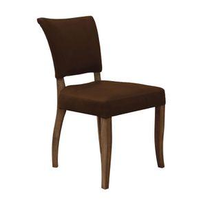 Chaise en cuir Marron Riders Cocoa - Coleen (lot de 2) - Visuel n°2