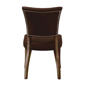 Chaise en cuir Marron Riders Cocoa - Coleen (lot de 2) - Visuel n°4