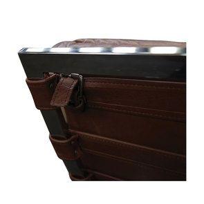 Chaise en cuir marron - Auckland - Visuel n°9