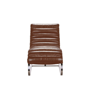 Chaise en cuir marron - Auckland - Visuel n°6
