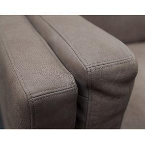 Canapé 3 places en cuir taupe - Détroit - Visuel n°9